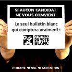 France : Le fait de comptabiliser le vote blanc redonnerait un souffle de vie à la démocratie