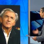 Guerres : BHL dans ses petits souliers face à un journaliste qui l'interview sur la Palestine