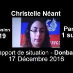 Donbass : Situation préoccupante au 31 décembre 2016