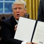 Trump rompt l'accord TPP et se met «du côté des identités nationales et contre le mondialisme»
