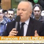 Politique : François Asselineau, un personnage haut en couleurs et qui monte, qui monte, qui monte…