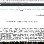DOCUMENT OFFICIEL DE LA CIA : Les USA préparaient la destruction de la Syrie dès 1983 !!!