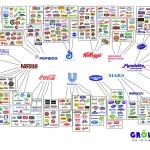 Seulement 10 entreprises contrôlent notre alimentation