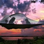 Science et Vie : Tentsile, la tente suspendue entre ciel et terre