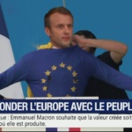 Humour : Macron, refonder l'Europe avec le peuple