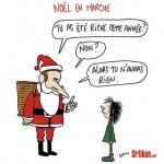 L'image du jour : Noël deux poids deux mesures (Noël en marche)
