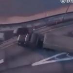 Fake News : Images impressionnantes d'un accident de la route aux États-Unis ?
