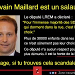 Pour le député Sylvain Maillard, la majorité des SDF qui dorment dans la rue le font par choix