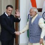 Environnement : Alors qu'EDF veut construire la plus grande centrale nucléaire au monde en Inde, Macron y était pour promouvoir l'énergie solaire